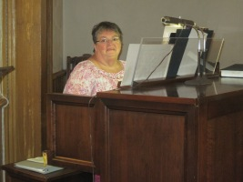 Jeanne Our Organist
